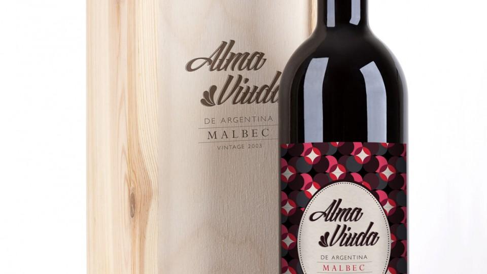 Alma Viuda Red Wine