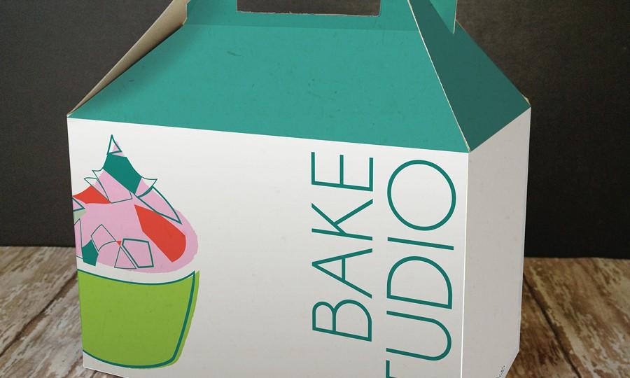 Bake Studio Gable Box for cupcakes