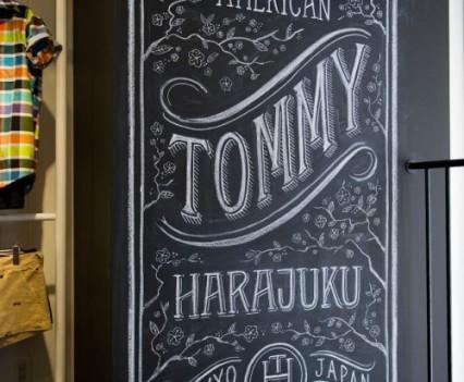tommy harajuku - Installation on second floor