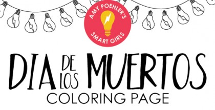 Smart Girls' Coloring Page