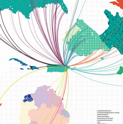 Route Map – B. Fernandez & Hnos' Lobby